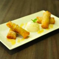 Fried Banana Roll