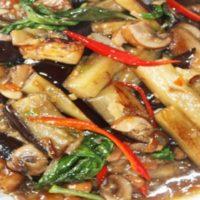 Pad Eggplant Tofu